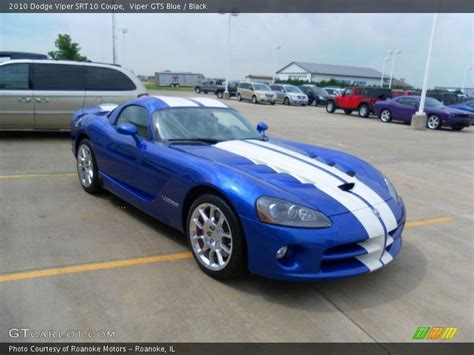 2010 dodge viper srt10 coupe in viper gts blue photo no 31353584 gtcarlot