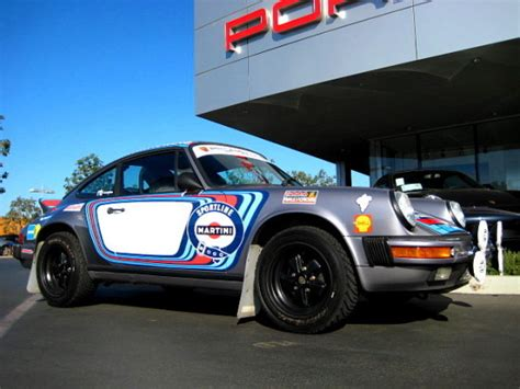 porsche rally car for sale martini racing rally tribute porsche 911 for sale