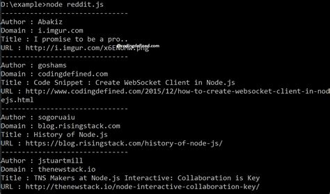 coding reddit get reddit posts in node js coding defined
