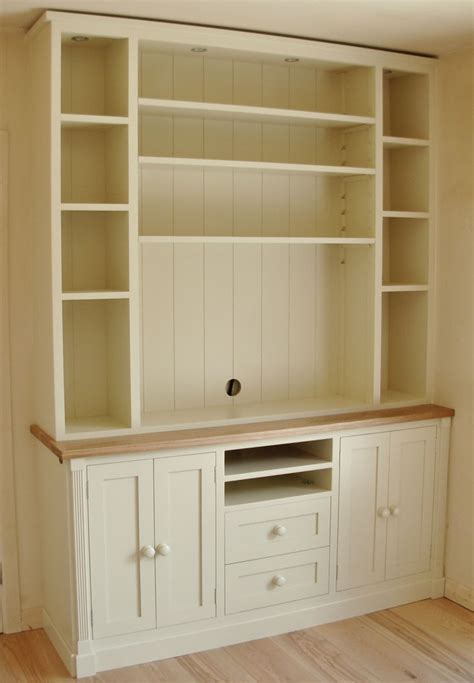 Kitchen Larder Cabinet by Deanery Cambridge Open Shelving Media Unit With Hand