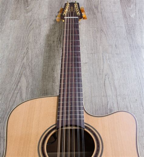 Five Fingers Strings Dener For Electric Acoustic Bass Black takamine p3dc12 12 string dreadnought acoustic electric guitar with 12 string