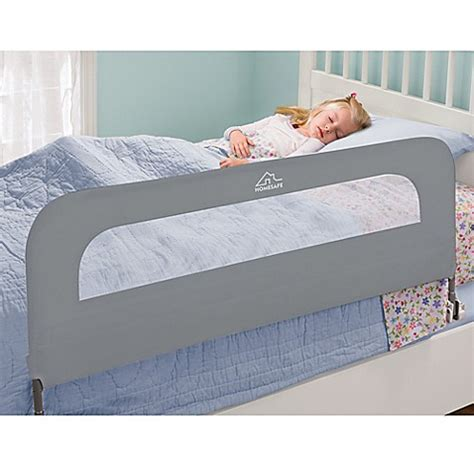 kids bed rails homesafe by summer infant 174 extra long folding single