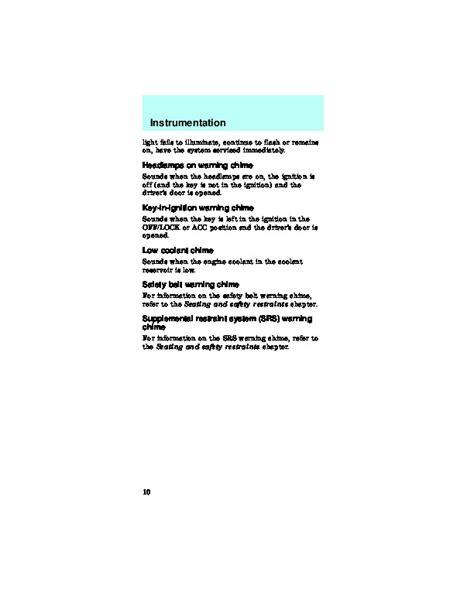 download car manuals pdf free 1991 ford taurus free book repair manuals ford taurus 1997 owners manual pdf download autos post