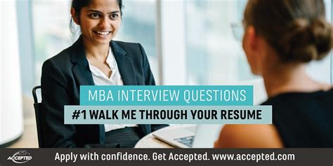 Walk Me Through Your Resume by Walk Me Through Your Resume Mba Questions
