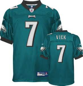 eagles colors michael vick green authentic jersey eagles 7 jersey
