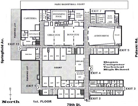school floor plans school building plans and designs atherton high school