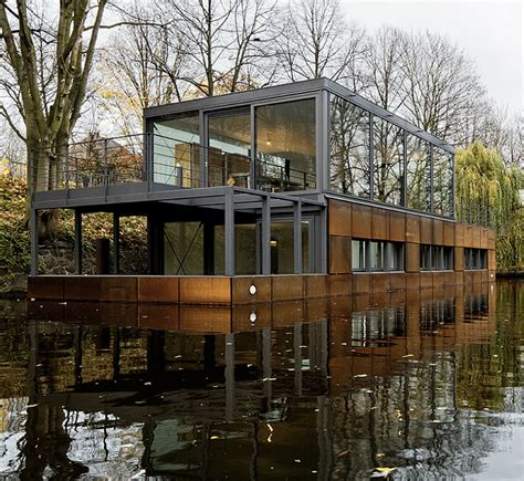 pictures of house boats hamburg s new houseboat community designapplause
