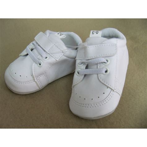 chaussure blanche pour bebe garcon