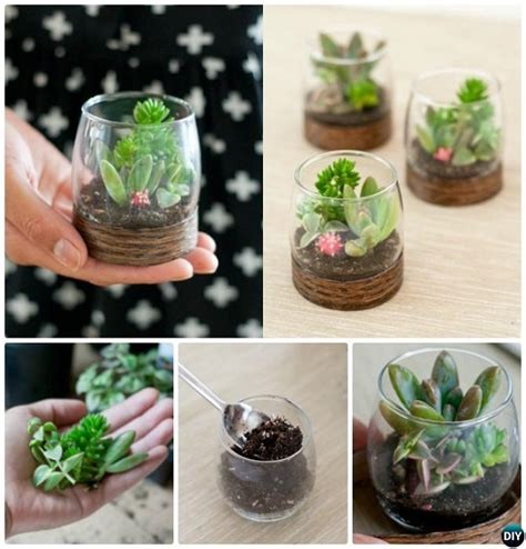 Decorative Tin Containers 10 Diy Mini Fairy Terrarium Garden Ideas And Projects