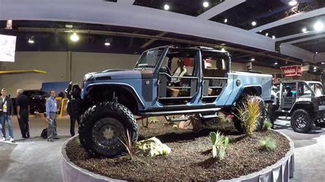 bandit jeep jeep wrangler jk quot bandit quot truck conversion sema 2016