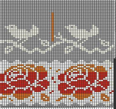 Deenay Scraf Shelby New Motif tricksy knitter by megan goodacre 187 shared charts