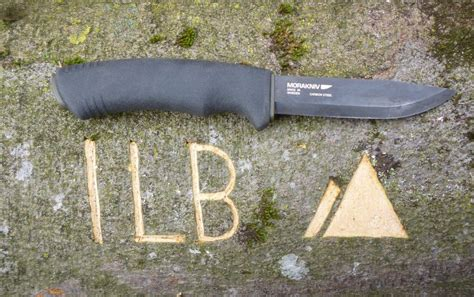 bushcraft survival black test morakniv bushcraft survival black