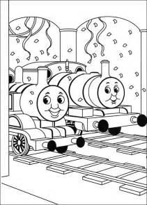kleurplaten en zo 187 kleurplaten van thomas trein