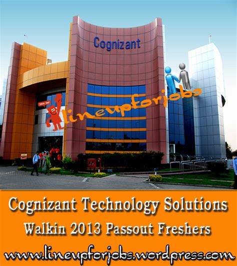 Cognizant Recruitment For Mba Freshers by Walkin In Cognizant Technology Solutions For 2013 Passout