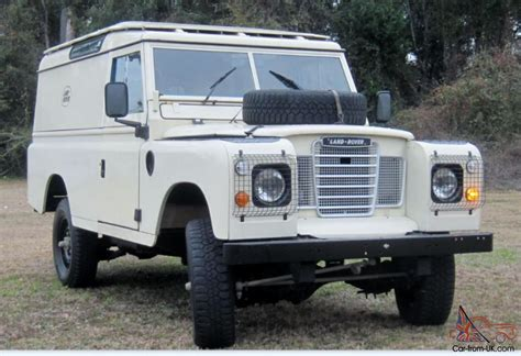 land rover series 3 109 1977 landrover series iii 109