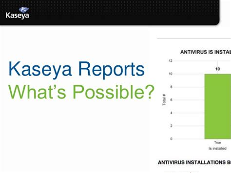 Kaseya Reports Templates Kaseya Connect 2013 Custom Reports Made Your Way