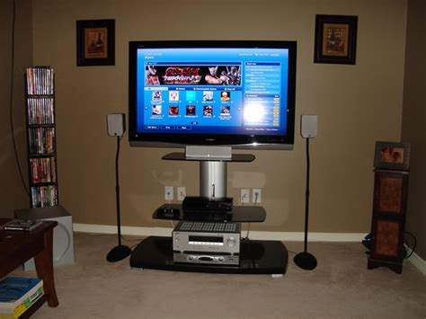 how to build an entry level home theater and gaming system