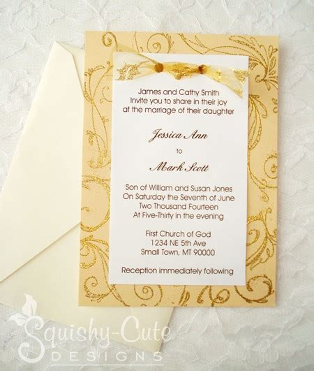 Handmade Invitation Ideas - handmade wedding invitations ideas