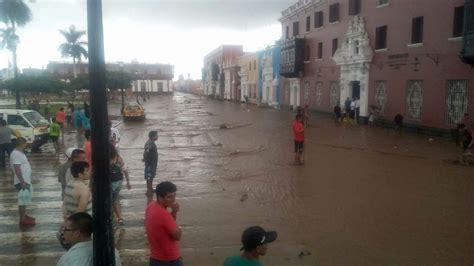 agencia de noticias trujillo ciudad de trujillo soporta intensa lluvia tras ca 237 da de