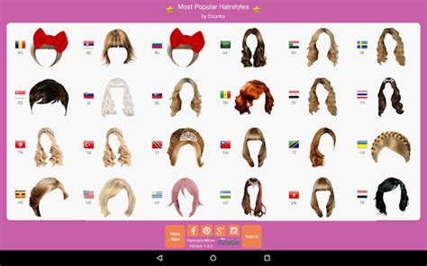 hairstyles app for windows app hairstyle mirror try on live apk for windows phone
