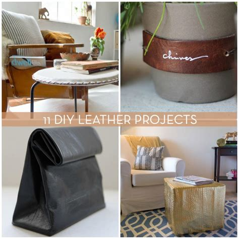 do it yourself projects roundup 11 inspiring do it yourself projects with leather