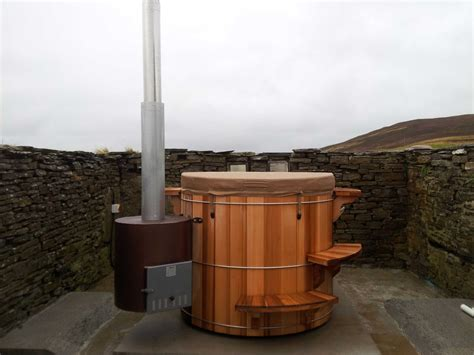 wood hot tub wood fired model terete hot tubs