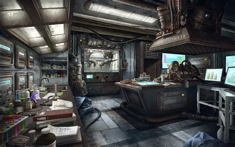 basement science exogenesis science lab by howi3 on deviantart