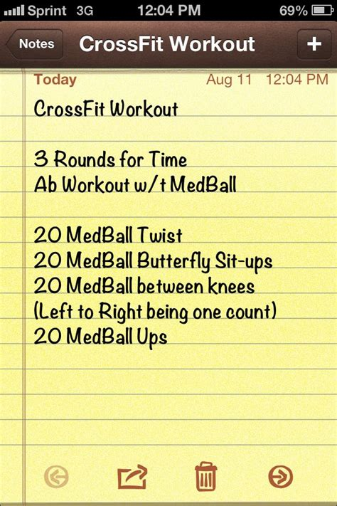 this is my own crossfit ab workout crossfit