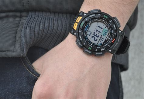 Casio Sea Pathfinder Not Gshock casio men s pag240 1cr pathfinder sensor