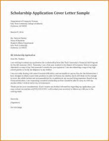 Dean Cover Letters by Sle Letter Of Intent For Scholarship Program Cover Letter Templates