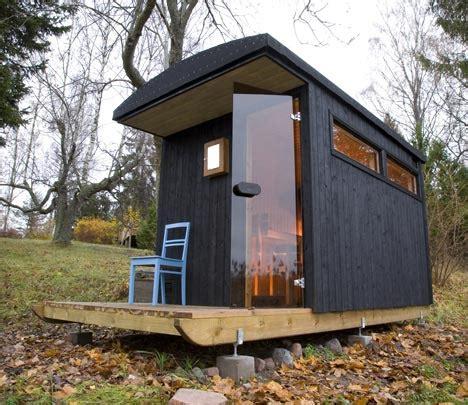 Diy Backyard Sauna by Relaxshacks A Tiny House Sauna And Houseboat