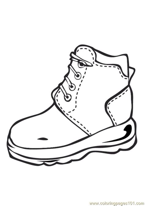 Coloring Pages Shoes Entertainment Gt Shoes Free Shoe Coloring Pages