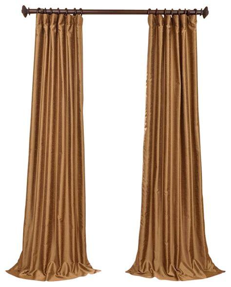 gold silk drapes empire gold yarn dyed faux dupioni silk curtain single