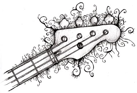 Easy Things To Draw In Sharpie by Drawing Bass Sharpies Bass And Drawings