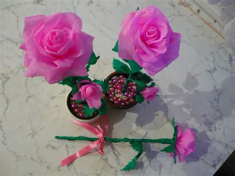 Crepe Paper Roses - crepe paper 183 how to make a paper flower 183 decorating