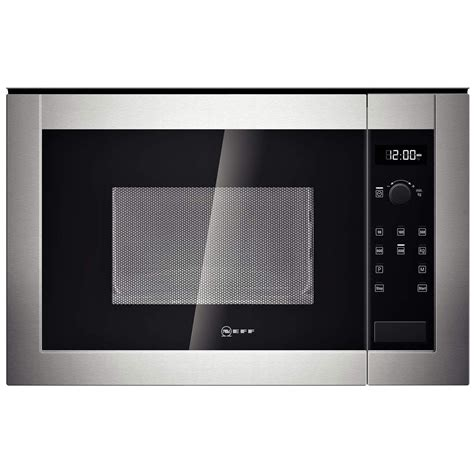 neff h53w50n3gb 800w 17l built in microwave oven for a
