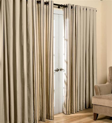 Curtain For Sliding Door by Sliding Door Curtains Casual Cottage