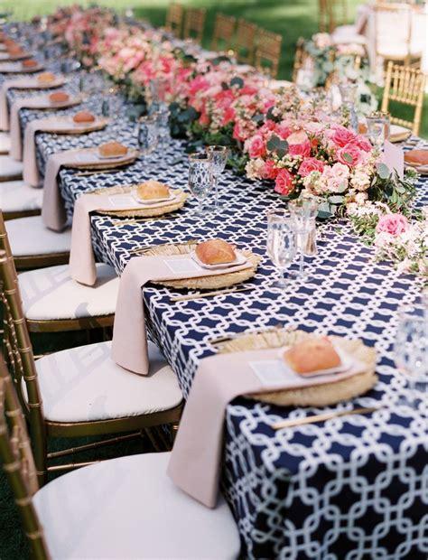 Bleu marine et rose, des couleurs punchy pour mon mariage