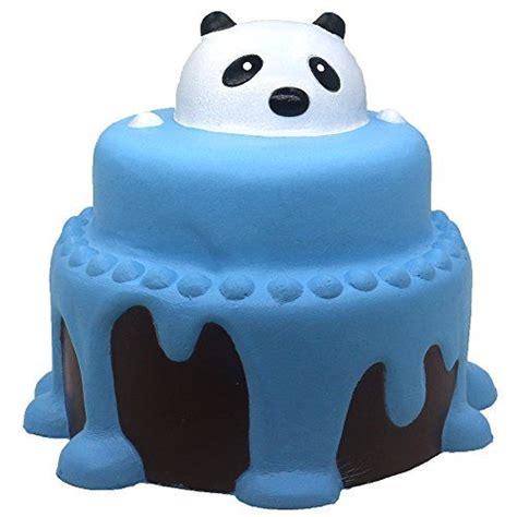 Panda Birthday Cake Squishy trasfit 4 7 jumbo rising squishies panda cake lar