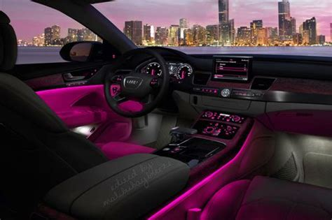 Pink Interior Lights by Pink Car Interior Lights Transporters