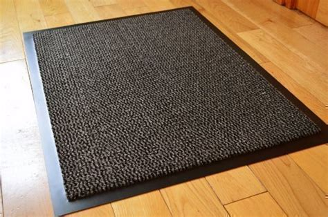 rubber backed kitchen rugs medium grey black non slip door mat rubber backed runner barrier mats rug pvc edged kitchen mat