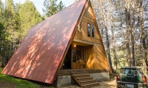 small a frame homes the red a frame cabin your small space dream tiny