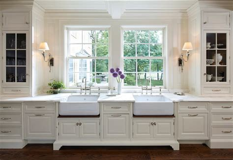 White Paneling In Kitchen by Traditional Home With Classic White Kitchen Home Bunch