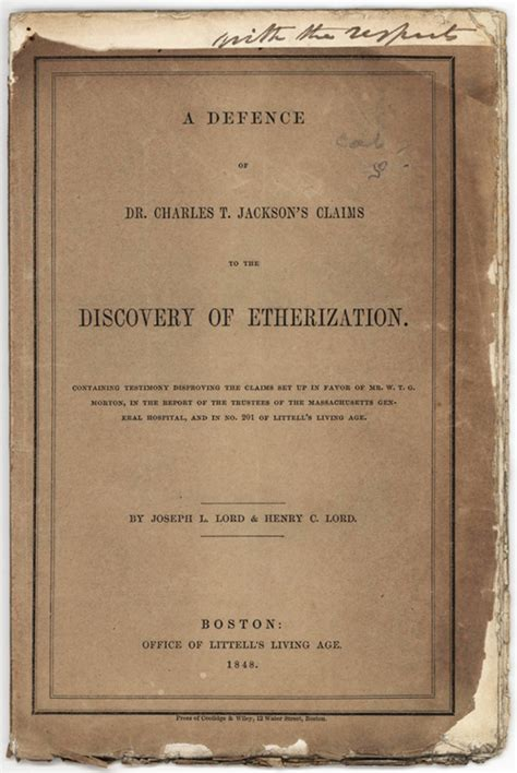 more ether less chloroform classic reprint books autographs