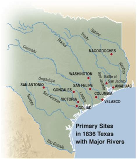 revolution and the republic of texas | texas almanac
