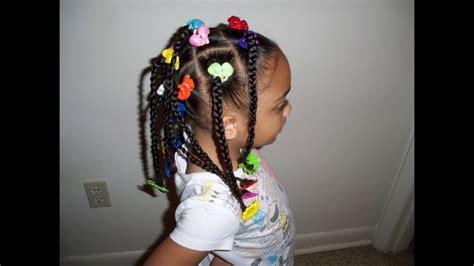 girls hair tv cute kids hairstyles braids ponytails