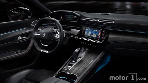 peugeot jeep interior and peugeot 508 side by side