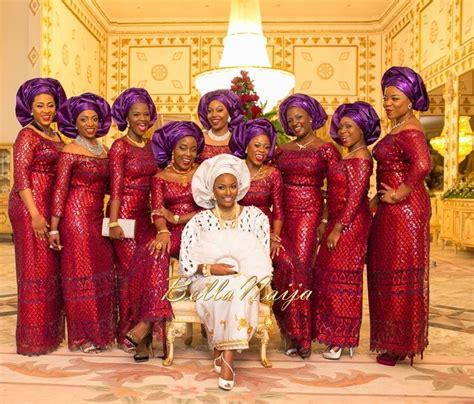 bella naija wedding pictures 2014 hadiza raisa okoya olamiju alao akala wedding atunbi