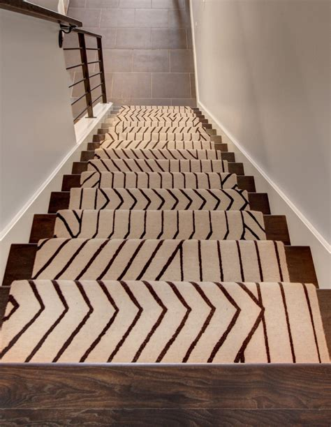 White And Grey Bathroom Ideas by Modern Stair Runners Staircase Traditional With Animal