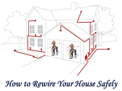 how to rewire a how to rewire your house safely